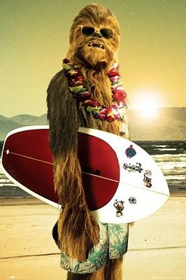 Star Wars: Chewie Surfboard Poster (24x36)