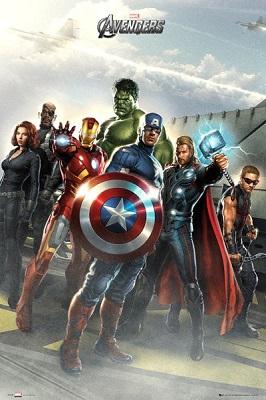 Avengers: Team Poster (24x36)