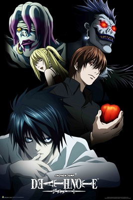 Death Note: Cast of Characters Poster (24x36)