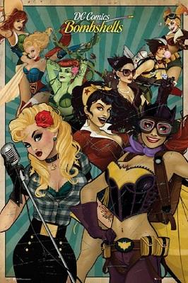 DC Comics: Bombshells Poster (24x36)
