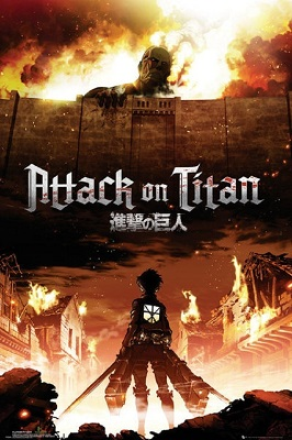 Attack on Titan: Japanese Poster (24x36)