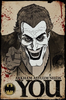Batman: Comic Joker Wants You Poster (24x36)