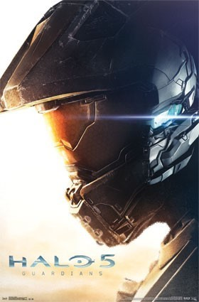 Halo 5: Guardians: Teaser Cover Art Poster (22x34)
