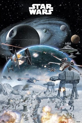 Star Wars: Battle Poster (24x36)