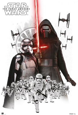 Star Wars: The Force Awakens: Empire White Poster (24x36)