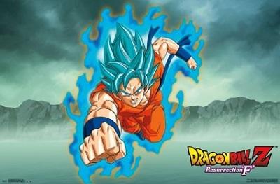 Dragon Ball Z: Resurrection F Goku Poster (22x34)