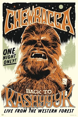 Star Wars: Chewbacca One Night Only Poster (24x36)