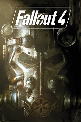 Fallout 4: Mask Poster (24x36)