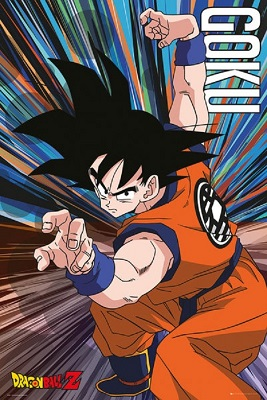 Dragon Ball Z: Goku Jump Poster (24x36)