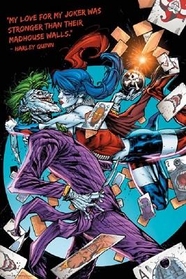 DC Comics: Harley Quinn Joker Kiss (24x36)