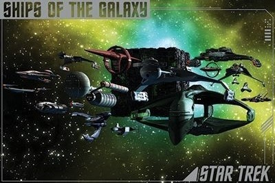 Star Trek: Ships of the Galaxy Poster (24x36)