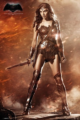 Batman Vs Superman: Wonder Woman Poster (24x36)