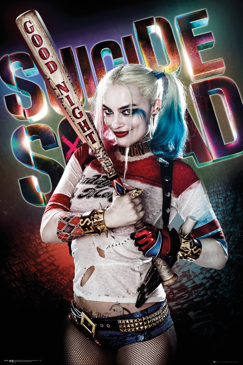 Suicide Squad: Harley Quinn Good Night (24 X 36)
