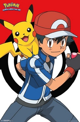 Pokemon: Ash and Pikachu (24x36)