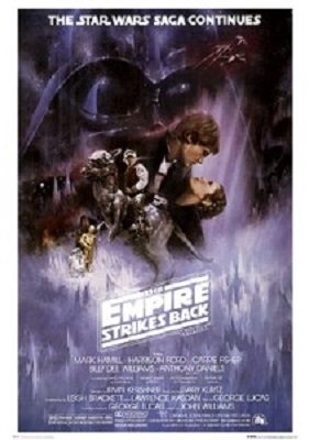 Star Wars: Empire Strikes Back Style A Commercial Poster (24x36)