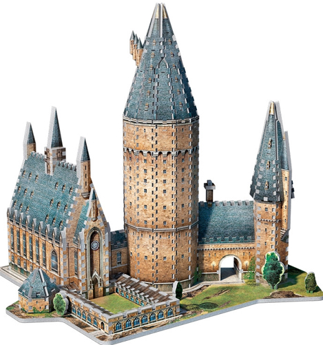 Harry Potter: Hogwarts Astronomy Tower 3D Puzzle