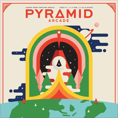 Pyramid Arcade Board Game