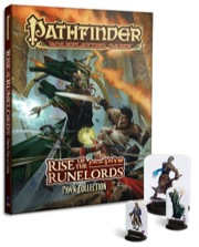 Pathfinder: Adventure Path: Rise of the Runelords Anniversary Edition - Used