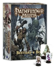 Pathfinder Role Playing Game: Pawns: Bestiary 4 Box