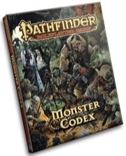 Pathfinder Role Playing Game: Monster Codex Hardcover