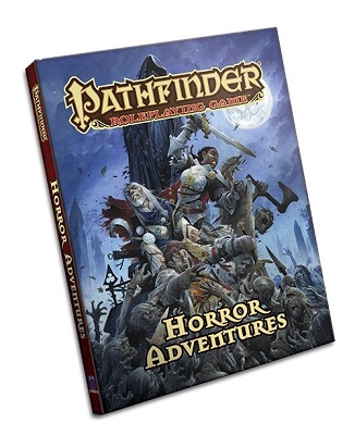 Pathfinder Role Playing Game: Horror Adventures Hard Cover