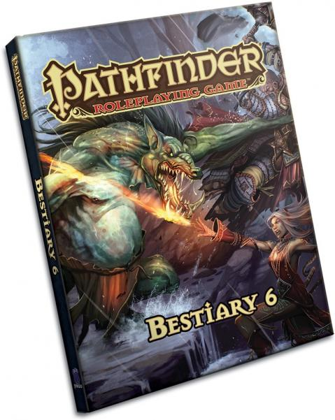 Pathfinder Role Playing Game: Bestiary 6 Hard Cover
