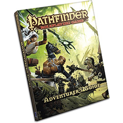 Pathfinder Role Playing Game: Adventurers Guide Hard Cover