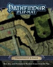 Pathfinder: Game Mastery: Flip-Mat: Thornkeep Dungeons 2-Pack