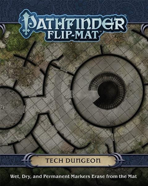 Pathfinder: Game Mastery: Flip-Mat: Tech Dungeon