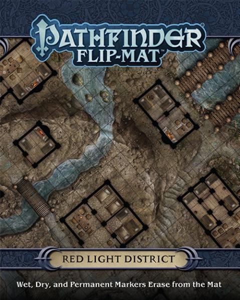 Pathfinder: Game Mastery: Flip Mat: Red Light District