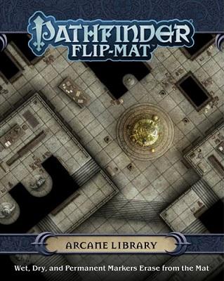 Pathfinder: Flip-Mat: Arcane Library