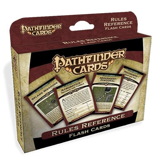 Pathfinder: Cards: Rules Reference Double Deck
