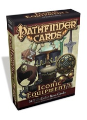 Pathfinder: Cards: Iconic Equipment 3 Cards Deck