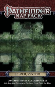 Pathfinder: Game Mastery: Map Pack: Sewer System