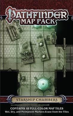 Pathfinder: Map Pack: Starship Chambers