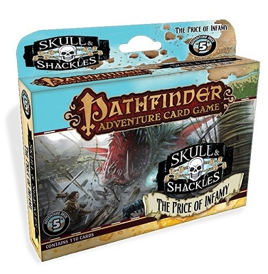 Pathfinder Adventure Card Game: Skull and Shackles: The Price of Infamy