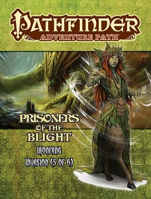 Pathfinder: Adventure Path: Ironfang Invasion: Prisoners of the Blight
