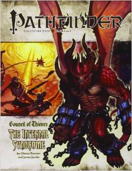 Pathfinder: Adventure Path: Council of Thieves: the Infernal Syndrome - Used