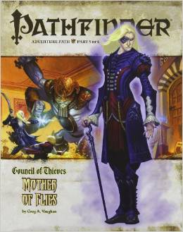 Pathfinder: Adventure Path: Council of Thieves: Mother of Flies - Used