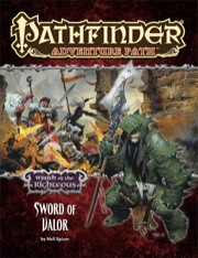 Pathfinder: Adventure Path: Wrath of the Righteous: Sword of Valor - Used