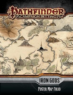 Pathfinder: Campaign Settings: Iron Gods: Poster Map Folio