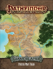 Pathfinder: Campaign Setting: Giantslayer Poster Map Folio