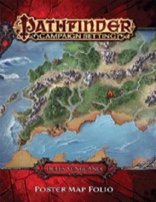 Pathfinder: Campaign Setting: Hells Vengeance Poster Map Folio