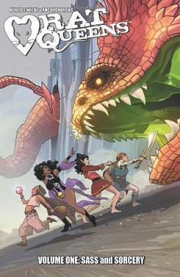 Rat Queens: Volume 1: Sass and Sorcery TP (MR)