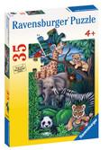 Animal Kingdom Puzzle: 08601
