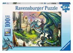 Dragon Rider 100pc Puzzle: 10876