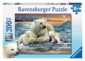 Polar Bears 200pc Puzzle: 12647