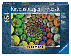 Krypt Colorful Spiral 654pc Puzzle: 15982