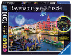 Full Moon in Venice 1200pc Puzzle: 16182