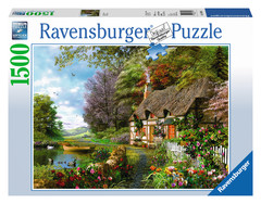 Country Cottage 1500pc Puzzle: 16202